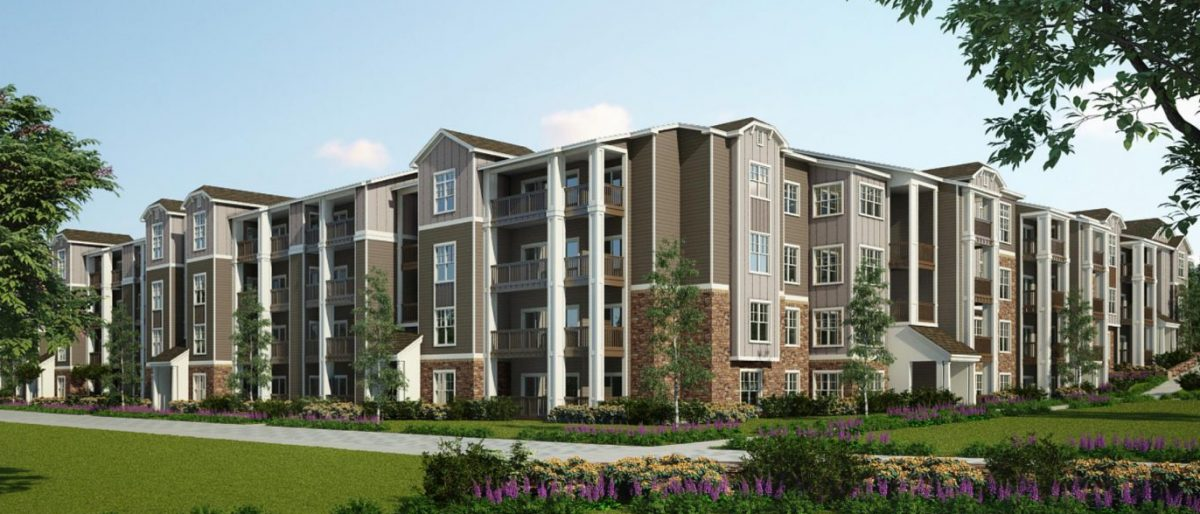 Multi Family Property Development : The davis companies and gemini real estate break ground on