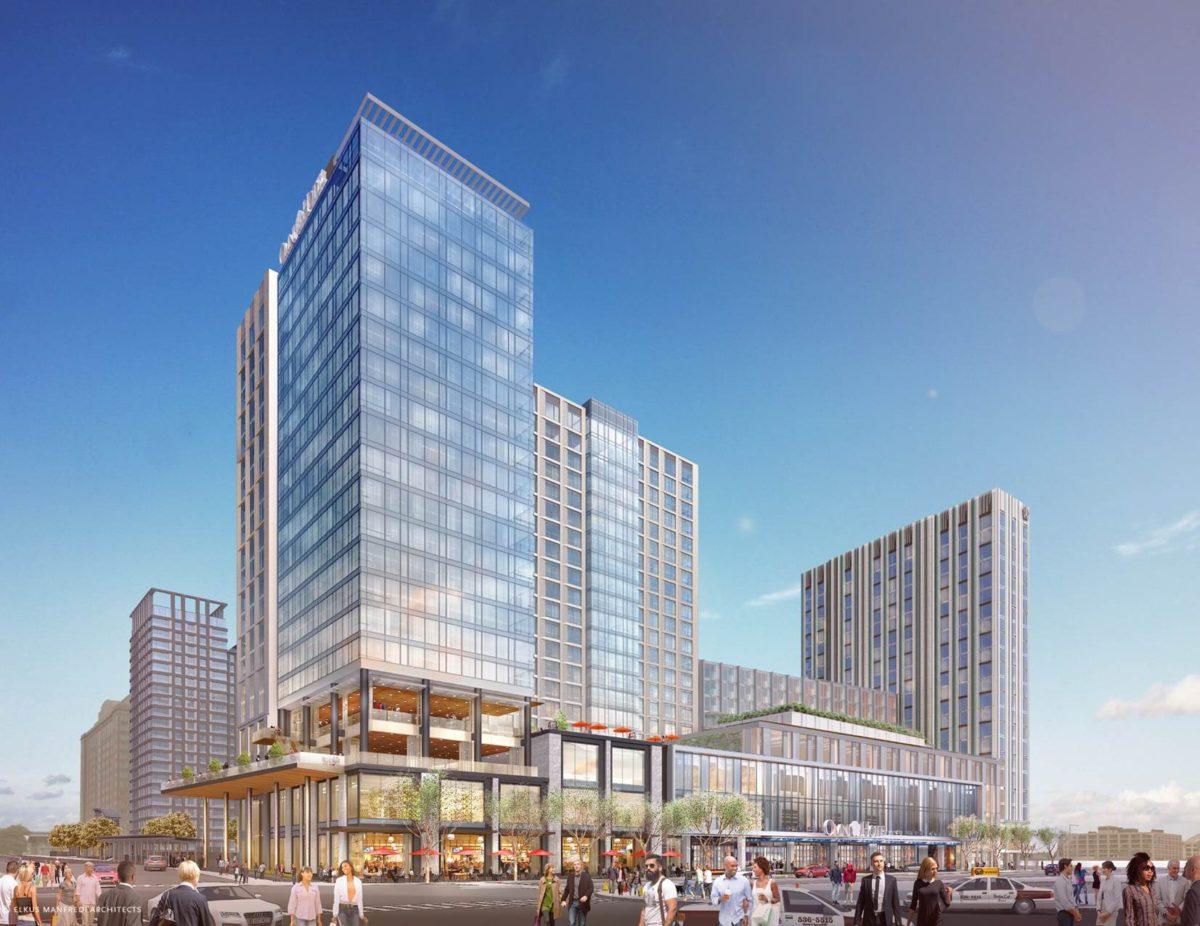 Omni Hotels Resorts Governor Baker Mayor Walsh Mport And Community Celebrate Breaking Ground On Boston Seaport Hotel